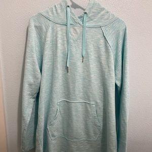 Calvin Klein aqua hoodie